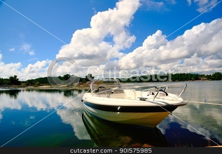 Swedish Archipelago stock photo, St Anna Archipelago in a nummer sunny day in Sweden by Maurizio Martini