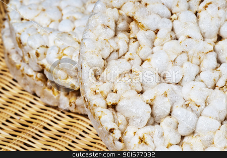 rice cake stock photo, rice cake by Hans-Joachim Schneider