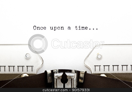 Once Upon a Time stock photo, Once upon a time... written on an old typewriter by Ivelin Radkov