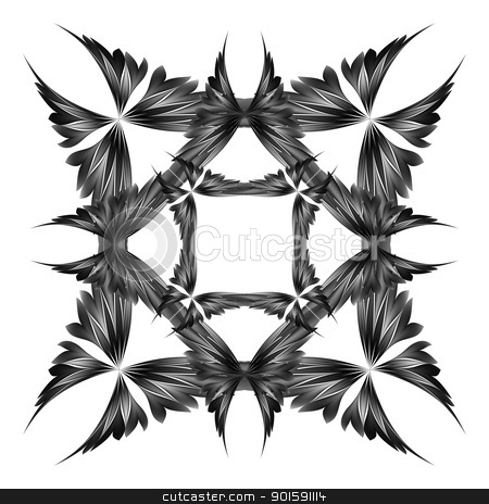 Vector abstract design stock photo, Abstract vector background. For your design. Butterfly by dvarg