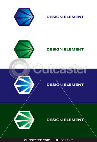 Graphic design elements. stock photo, Abstract graphic elements for design. by dvarg
