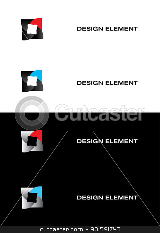 Abstract Square. stock photo, Graphic design element. Abstract Square. by dvarg