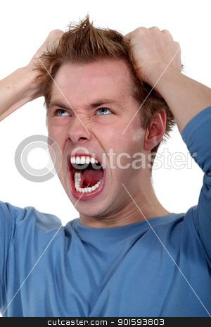 picture of young man going wild stock photo, picture of young man going wild by photography33