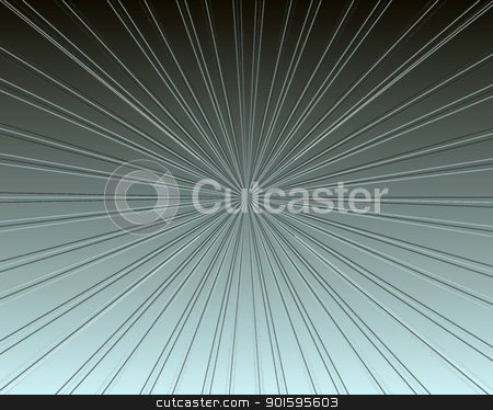 Silver Metallic Neon Ray Burst stock photo, Neon Silver Metallic Neon Ray Burst Background by Snap2Art