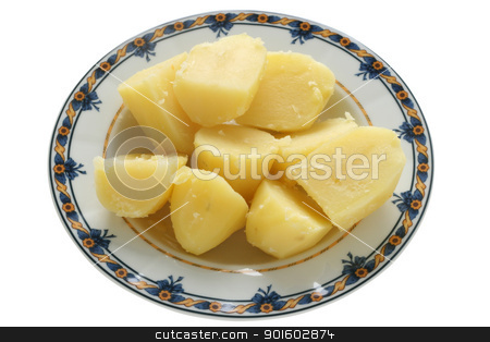 Boiled potato stock photo, Boiled potato by nataliamylova