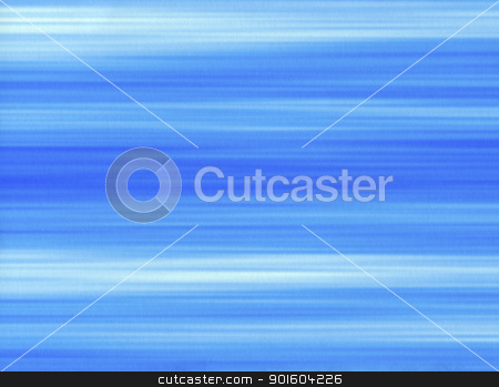 Blue paint brush strokes lines on a paper background. stock photo, Blue paint brush strokes lines on a paper background. by Stephen Rees