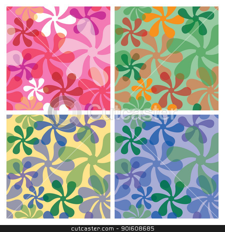 FUNKY FLOWER PATTERNS – 1000 FREE PATTERNS
