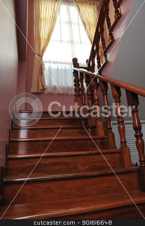 New Home Stairway stock photo, A picture of New home modern stairway  by bigjom