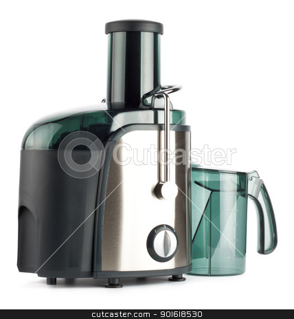 juice extractor stock photo, juice extractor isolated on white by Petr Malyshev
