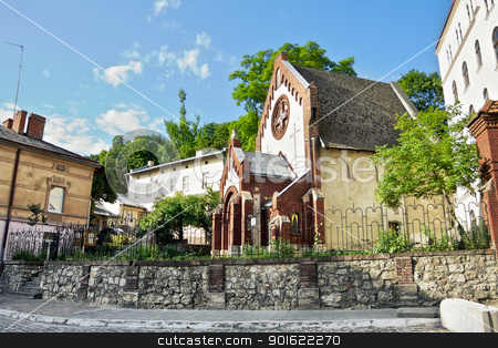 St. John Baptist Church in Lviv stock photo, St. John Baptist church in Lviv, Ukraine by Petr Malyshev