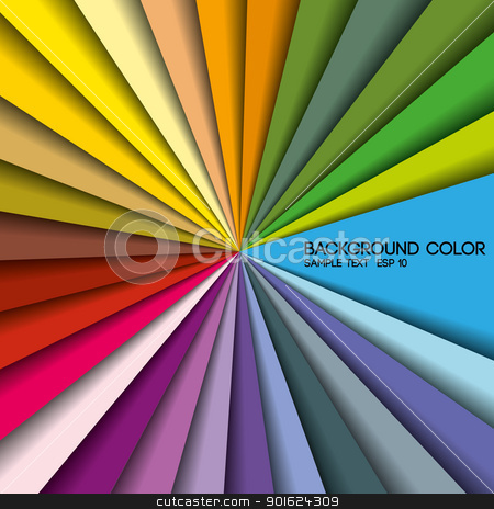 colorful stock vector clipart, colored background with place for text, color palette 1 by Miroslava Hlavacova