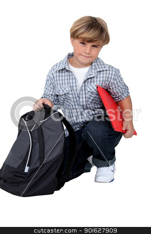 Schoolboy stock photo, Schoolboy by photography33