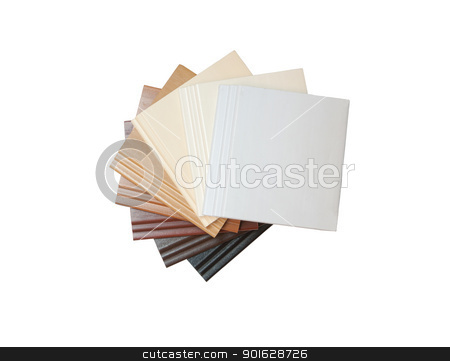 Sort of Plastic sheet on whte background  stock photo, Sort of Plastic sheet on whte background  by kamonrat