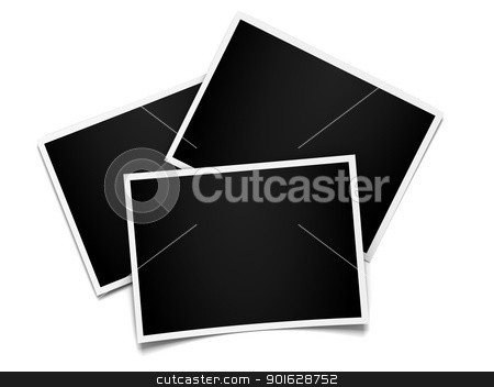 instant photo frames set stock photo, instant photo frames set by dacasdo