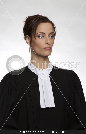 Canadian Attorney stock photo, Canadian attorney in full attire by Yann Poirier