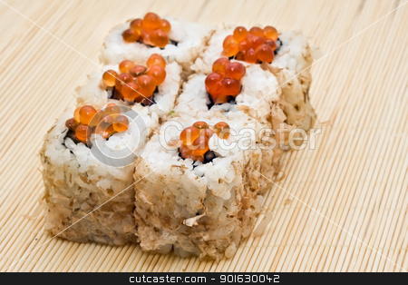 Sushi stock photo, Traditiona Japanese food by Alexey Popov