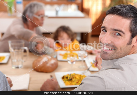Family meal stock photo, Family meal by photography33