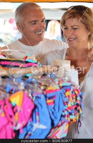 Couple clothes shopping stock photo, Couple clothes shopping by photography33