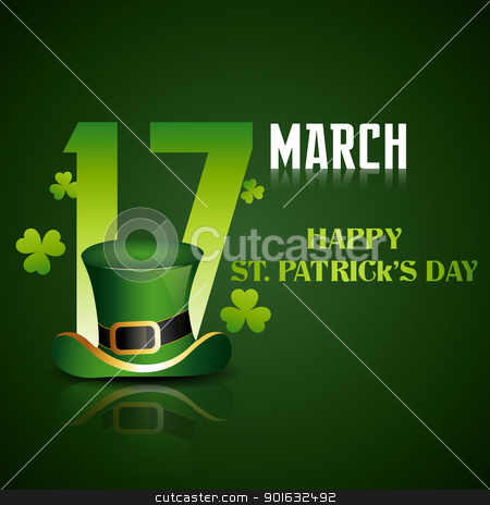 st patrick's day stock vector clipart, vector beautiful st patrick's day illustration by pinnacleanimates