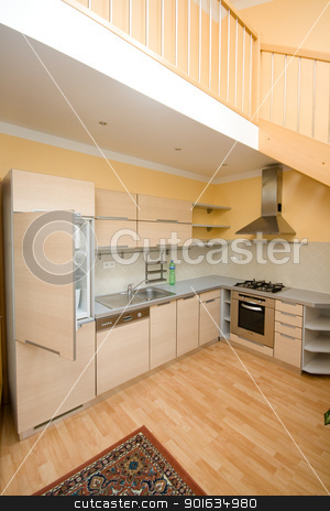 kitchen stock photo, kitchen by Sarka