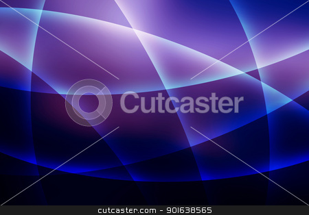Soft Purple Lines Background stock photo, Abstract Soft Curvy Shaped Purple Lines Background by Snap2Art