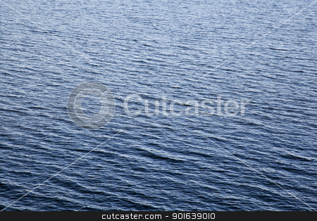 water surface with waves stock photo, water lake surface with small waves by Marek Uliasz