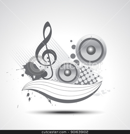 music vector art stock vector clipart, music vector art elements illustration design by pinnacleanimates