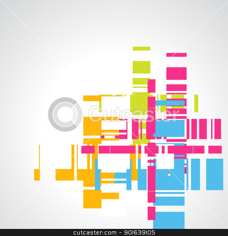 Colorful Abstract background stock vector clipart, abstract vector colorful background design by pinnacleanimates
