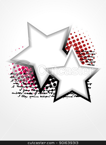 beautiful star vector art stock vector clipart, beautiful star vector artistic design by pinnacleanimates