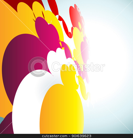 abstract colorful background stock vector clipart, vector abstract colorful background illustration by pinnacleanimates