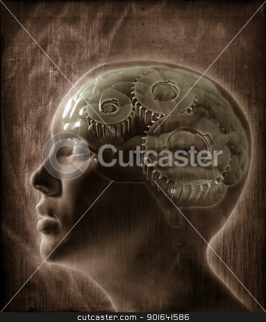 Human intelligence stock photo, Human intelligence concept by Mopic