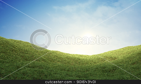Grass Valley stock photo, Grass Valley by Mopic