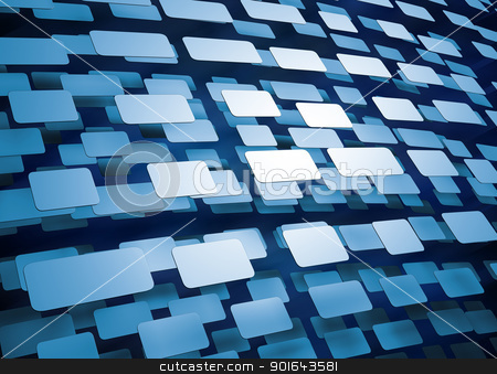 Abstract technology background or wallpaper stock photo, Abstract technology background or wallpaper- rendered hi-tec 3d illustration   by Mopic