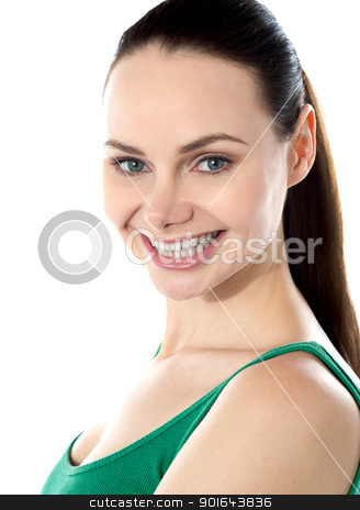 Portrait of beautiful teen girl stock photo, Portrait of beautiful teen girl ...