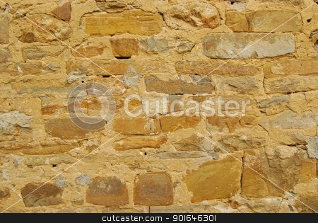 Old country house stone wall stock photo, Old country house stone wall as background by Aleksandar Varbenov