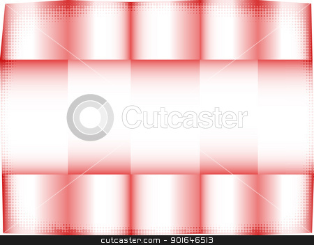 Red paper stock photo, Red abstract template background. Stylization of the crumpled paper. EPS10 by Imaster