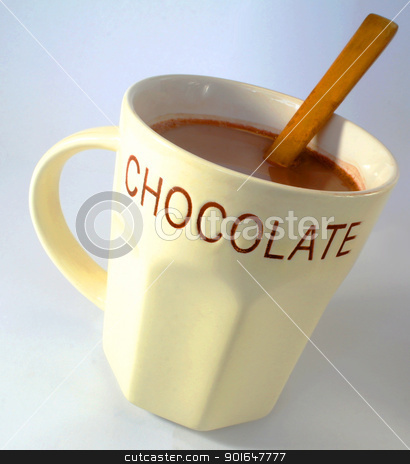 Hot chocolate stock photo, a picture of a mug of hot chocolate by daniel lord