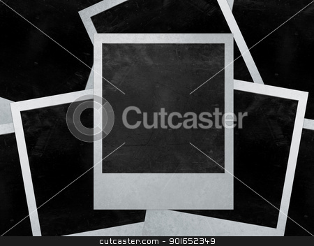 instant photo stock photo,  instant photo with black area with room to add image . by Designsstock