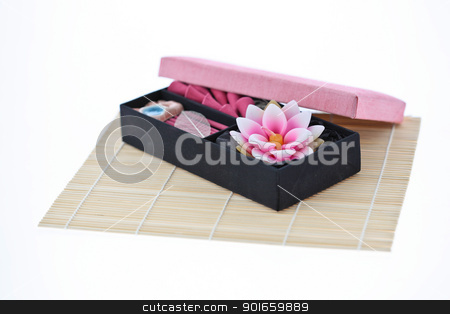 aroma candle box set stock photo,  by audfriday13