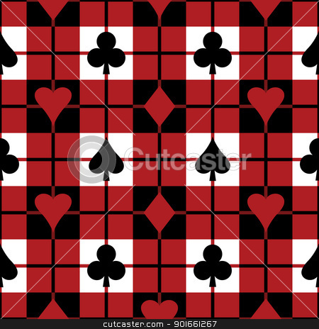 Playing Card Suit Templates http://cutcaster.com/vector/901661267-Playing-Card-Suits-Pattern/