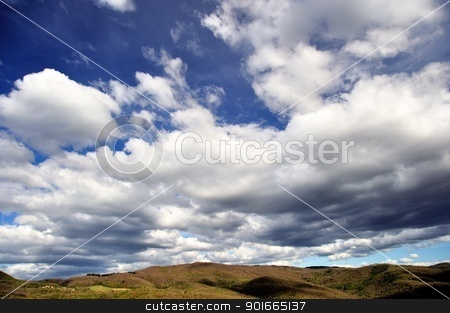 Dramatic Sky stock photo, stormy weather with dark clouds in the dramatic sky by Maurizio Martini