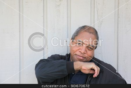 African american male. stock photo, African american male expressions. by OSCAR Williams