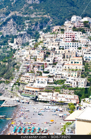 Minori - Costiera Amalfitana - italy stock photo, Panoramic view of Minori, wonderful town in Costiera Amalfitana - Italy by Perseomedusa