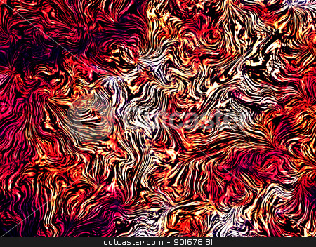 texture a la Vincent van Gogh stock photo, Abstract image - abstract texture - background by Siloto