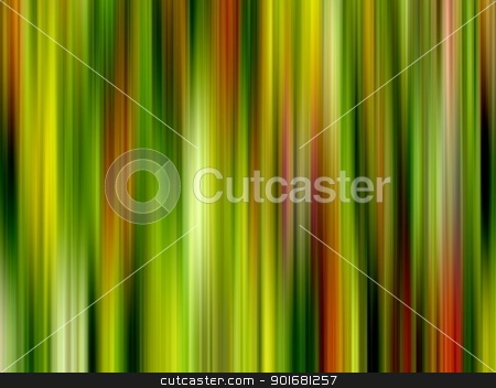 Green and warm colors abstract stripes pattern. stock photo, Green and warm colors abstract stripes pattern. by Stephen Rees