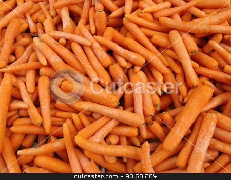 Lots of raw carrots close up. stock photo, Lots of raw carrots close up. by Stephen Rees