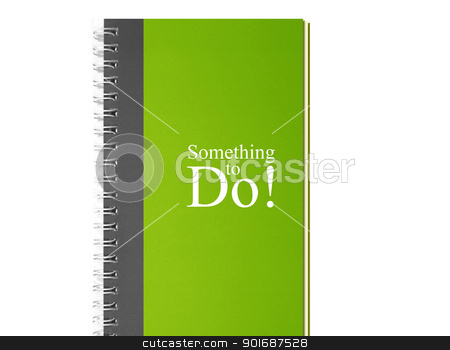 to do notebook stock photo, Small notebooks isolated on white, something to do by Designsstock