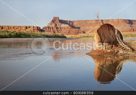 Colorado River in Canyonlands stock photo, Colorado River in Canyonlands National Park near Potash, Utah by Marek Uliasz