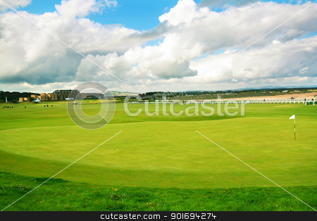 St Andrews, golf course, Scotland  stock photo, St Andrews, golf course, Scotland  by Juliet Photography