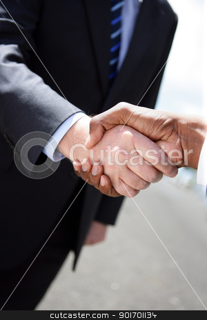 Business handshake stock photo, Business handshake by photography33